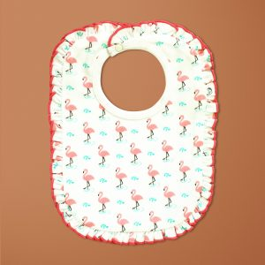 Miss Flamingo Reversible Bib-imababywear
