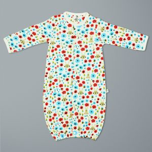 Flora And Fauna Convertible Sleepsuit-imababywear