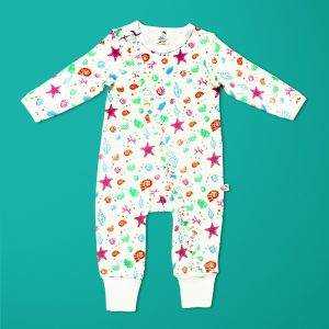Marine Kingdom Long Sleeve Zipsuit-imababywear