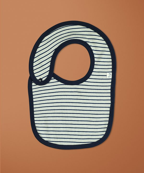 Nautical Stripes Reversible Bibs-imababywear