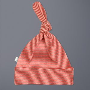 Raspberry Stripes Beanie-imababywear