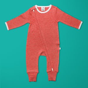 Raspberry Long Sleeve Zipsuit-imababywear