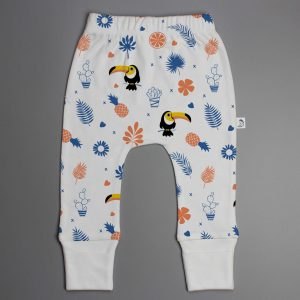 Toucan Forest Harrem Pant-imababywear