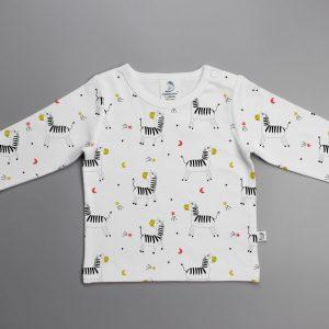 Madagascar Zebra Full Sleeve T-Shirt-imababywear