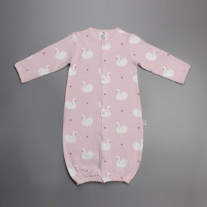 Geese Love Convertible Sleepsuit-imababywear