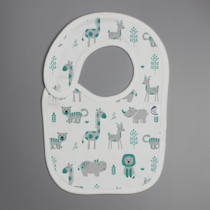 Animal Kingdom reversible bib-imababywear