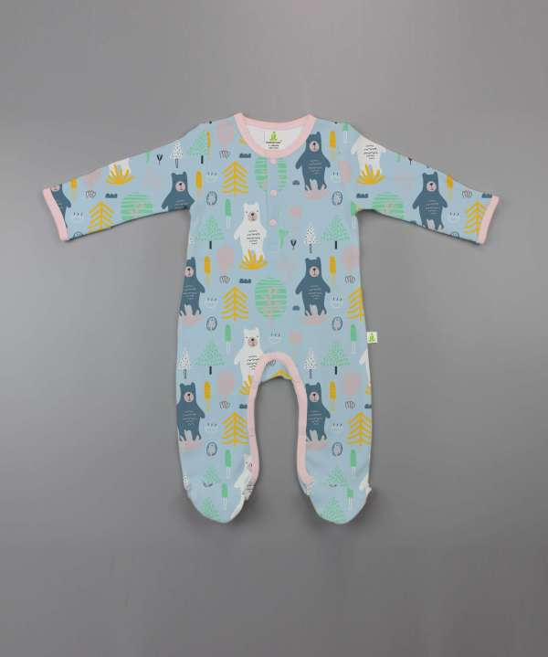 Arctic Bear Button Growsuit-imababywear