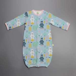 Arctic Bear Convertible Sleepsuit-imababywear