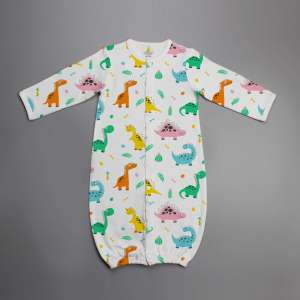 Dino Land Convertible Sleepsuit-imababywear