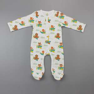 Flying squad Button Growsuit-imababywear
