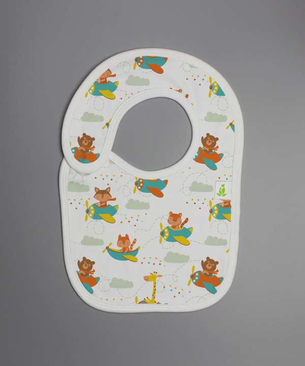 Flying squad Reversible Bib-imababywear