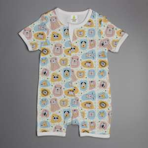 Jungle book short sleeve zipsuit-imababywear