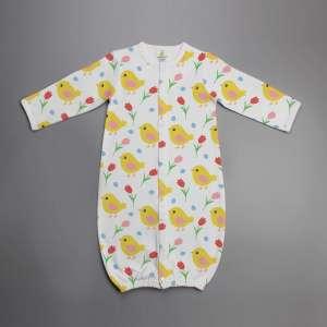 Little Birdies Convertible Sleepsuit-imababywear