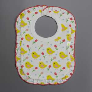 Little Birdies Frill Bib-imababywear