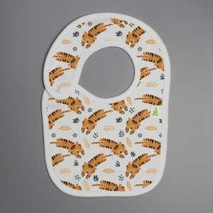 Tiger cubs Reversible Bib-imababywear