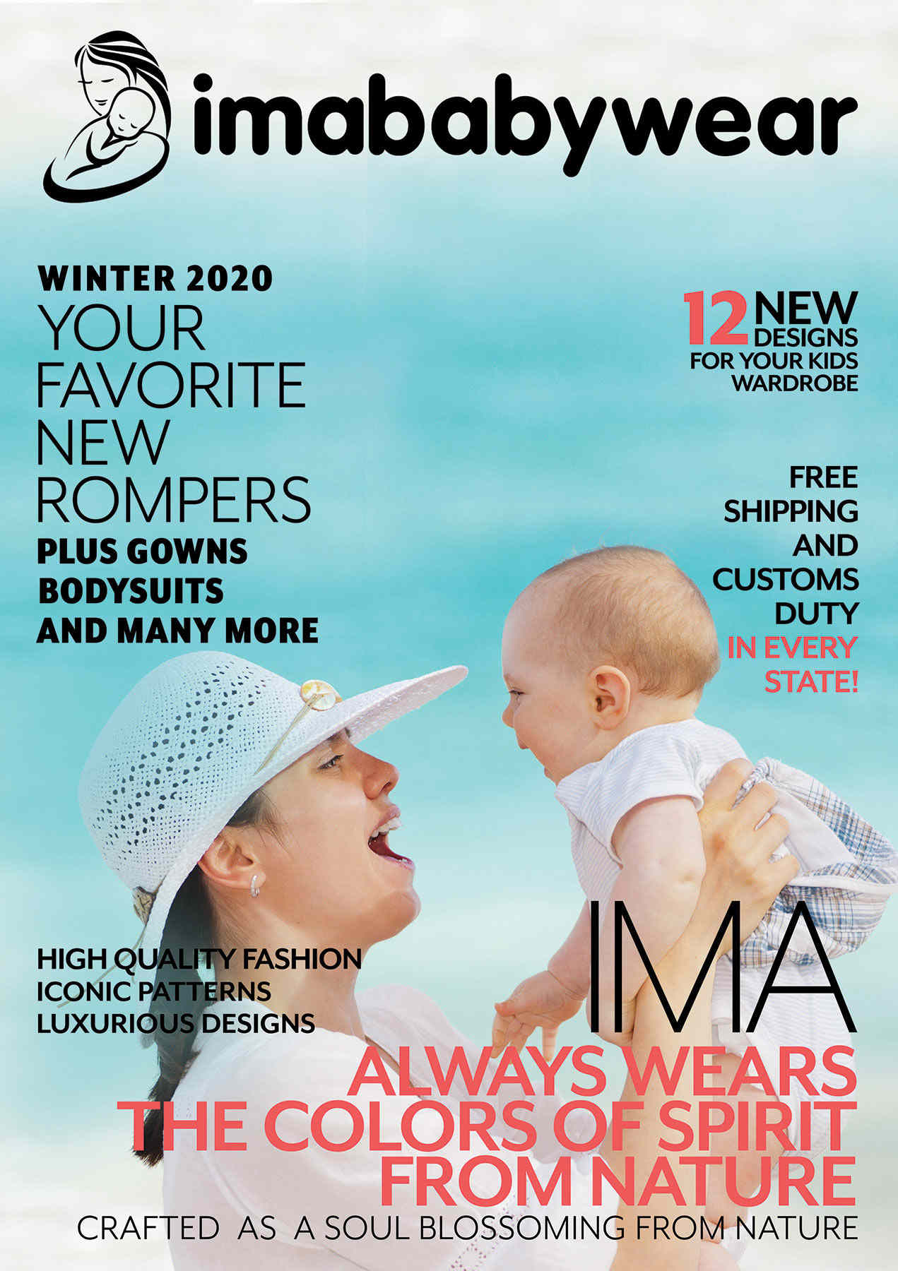 winter-2020 catalog front page-imababywear
