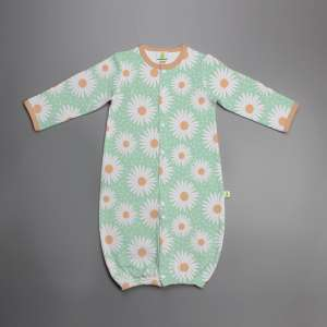 Daisy Valley Convertible Sleepsuit-imababywear