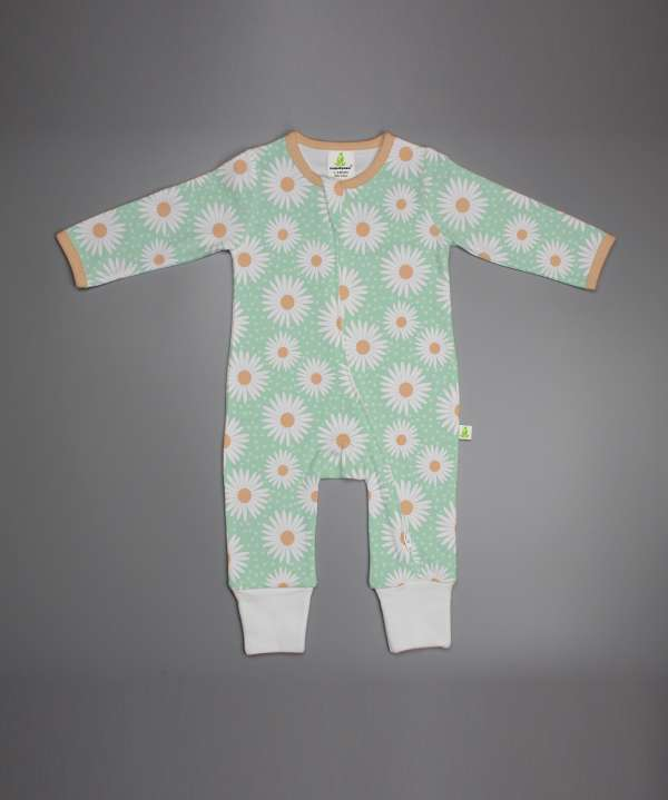 Daisy Valley Long Sleeve Zipsuit-imababywear