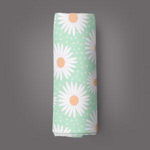 Daisy Valley Muslin Wrap-imababywear
