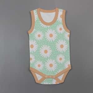 Daisy Valley Sleeveless Bodysuit-imababywear
