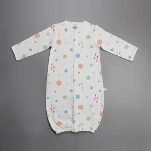 Dots and Doodles Convertible Sleepsuit-imababywear