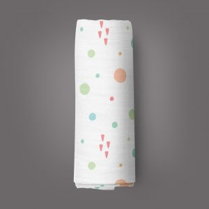 Dots and Doodles Muslin Wrap-imababywear
