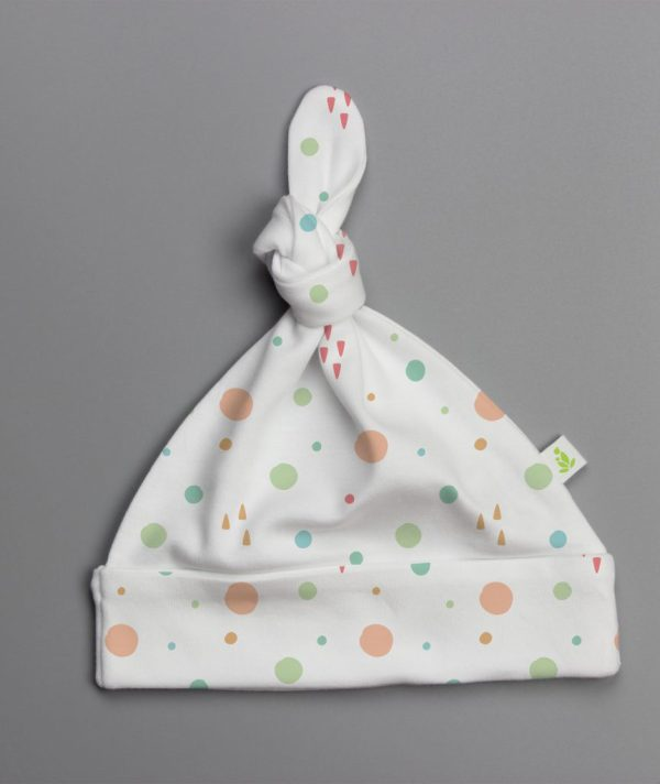 Dots and Doodles Knotted Beanie-imababywear