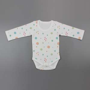Dots and Doodles Full Sleeve Bodysuit-imababywear