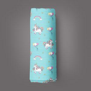 Unicorn Fantasy Muslin Wrap-imababywear