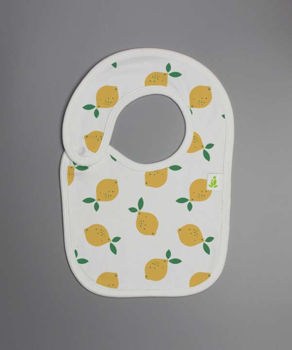 Little Lemons Reversible Bib-imababywear