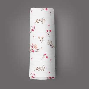 Red Bloom Muslin Wrap-imababywear