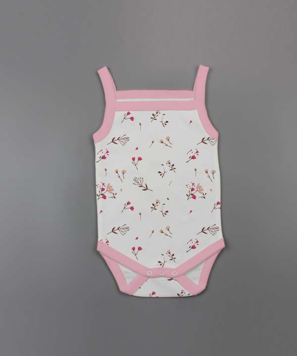 Red Bloom Strapy Bodysuit-imababywear