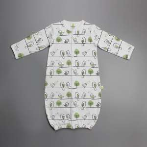 Tiny Tweets Convertible Sleepsuit-imabaywear