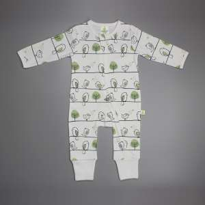 Tiny Tweets Long Sleeve Zipsuit-imababywear