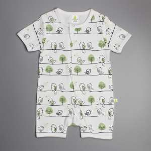 Tiny Tweets Shortsleeve Zipsuit-imababywear