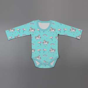 Unicorn Fantasy Full Sleeve Bodysuit-imababywear