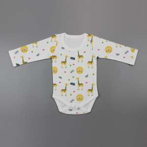 Yellow Forest Full Sleeve Bodysuit-imababywear