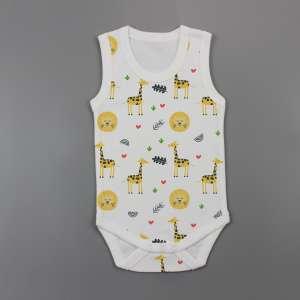 Yellow Forest Sleeveless Bodysuit-imababywear