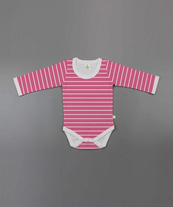 raspberry-stripes-full-sleeve-bodysuit